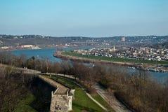 Río de Ohio de arriba imagen de archivo