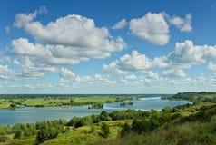 Río de Oka Imagen de archivo