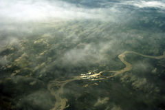 Río de oro Imagen de archivo libre de regalías