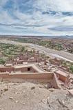 Río de Ounila en AIT Ben Haddou, Marruecos Imagen de archivo libre de regalías