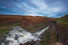Río de Palouse, Washington Fotos de archivo libres de regalías