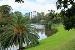 Río de Parramatta en Parramatta, Australia imágenes de archivo libres de regalías