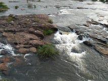 Río de Periyar imagen de archivo