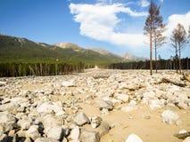 Río de piedra Imagen de archivo libre de regalías