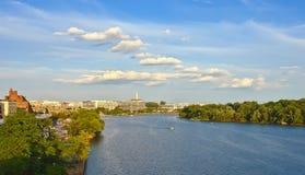 Río de Potomac Foto de archivo
