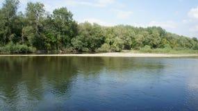 Río de Prut imagen de archivo