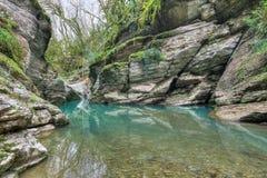 Río de Psakho Foto de archivo