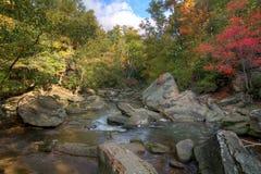 Río de Roacky en otoño imagen de archivo libre de regalías