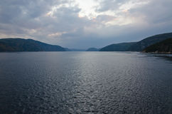 Río de Saguenay Fotografía de archivo