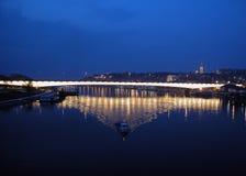 Río de Sava Imagen de archivo libre de regalías