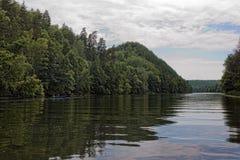 Río de Seversky Donets Foto de archivo libre de regalías