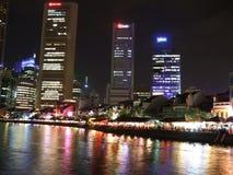 Río de Singapur Fotos de archivo libres de regalías