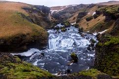 Río de Skoga Imagenes de archivo
