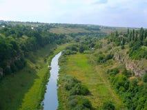 Río de Smotrych foto de archivo