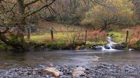 Río de Snowdonia Fotos de archivo