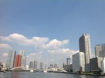 Río de Sumida en Tokio Foto de archivo