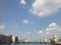 Río de Sumida en Tokio Imagen de archivo