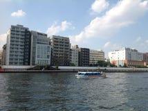 Río de Sumida en Tokio Foto de archivo libre de regalías