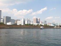 Río de Sumida en Tokio Imagen de archivo libre de regalías