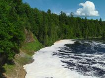 Río de Tahquamenon - Michigan fotografía de archivo libre de regalías