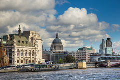 Río de Thames Londres Foto de archivo