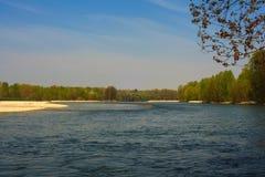 Río de Ticino Imagen de archivo libre de regalías