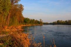Río de Ticino Fotografía de archivo