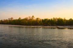 Río de Ticino Imagenes de archivo