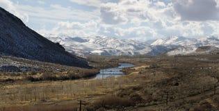 Río de Truckee cerca de Reno Fotos de archivo libres de regalías