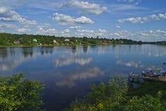 Río de Volkhov Fotos de archivo