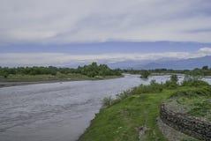 Río de Volkhov Fotografía de archivo