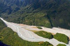 Río de Waiho Foto de archivo