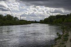 Río de Warta Fotografía de archivo