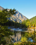 Río de Wenatchee Imagen de archivo libre de regalías