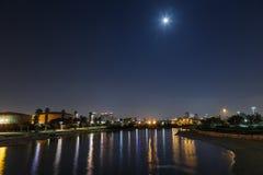 Río de Yarkon Imágenes de archivo libres de regalías