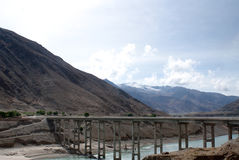 Río de Yarlung Zangbu Fotos de archivo