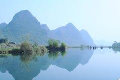 Río de Yulong Foto de archivo libre de regalías