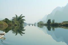 Río de Yulong Foto de archivo