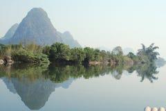 Río de Yulong Fotos de archivo libres de regalías
