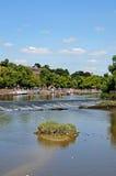 Río Dee, Chester Foto de archivo