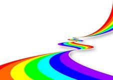 Río del arco iris Fotografía de archivo libre de regalías
