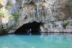 Río del Buna en Blagaj Foto de archivo