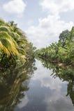 Río del campo Fotos de archivo