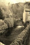 Río del campo fotografía de archivo