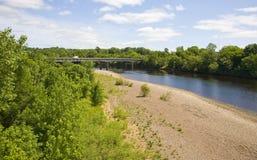 Río del Chippewa Imágenes de archivo libres de regalías
