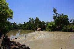 Río del cocodrilo, parque nacional del kakadu, Australia Foto de archivo