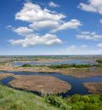Río del delta foto de archivo