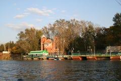 Río del embarcadero Fotos de archivo libres de regalías