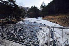 Río del hielo Fotos de archivo