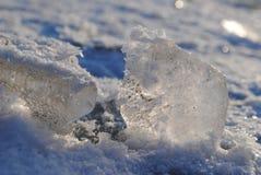 Río del hielo Imágenes de archivo libres de regalías